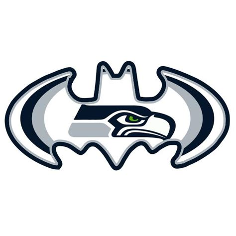 seattle transfer color seattle seahawks batman logo iron on transfers 2 00