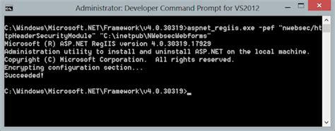 custom configuration section how to encrypt a custom configuration section in asp net