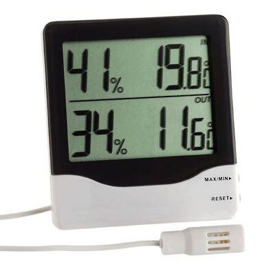 Hygrometer Thermometer Digital Ruangan Tfa Dostmann Germany tfa thermo hygrometer indoor and outdoor dual display 30 5013 tfa thermo hygrometer indoor and