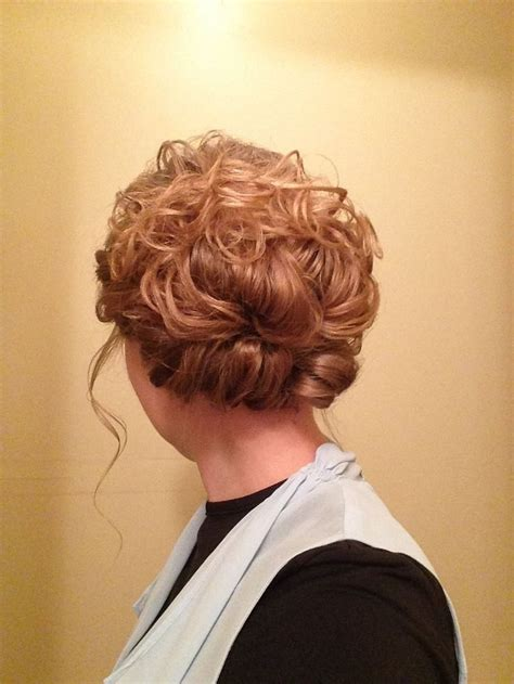 pentecostal hairstyles for long hair 1000 ideas about easy curly updo on pinterest curly