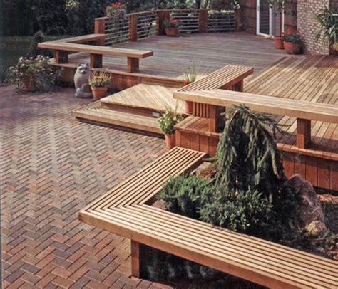 wood patio decks designs pictures wood deck patio idea