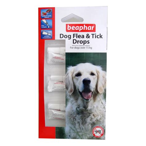 flea protection for dogs buy beaphar flea drops 12 week protection large dogs