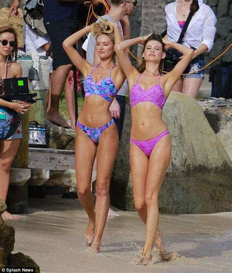 motorboat chest victoria s secret s candice swanepoel and behati prinsloo