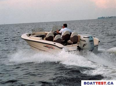 triumph boats test 2004 triumph triumph 191 dc tested reviewed on us boat