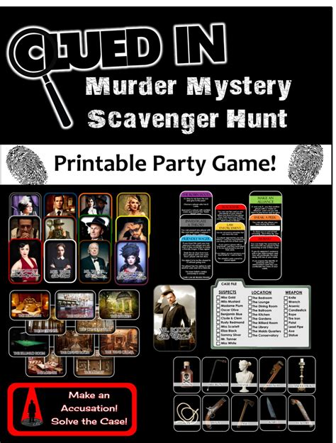 i hunt killers themes 1000 s of party games and themes for kids tweens teens