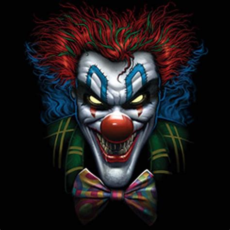 imagenes art cool psycho clown face