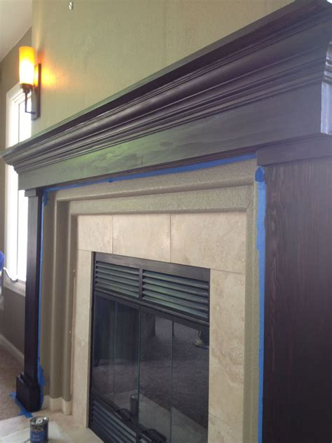 Build Your Own Fireplace Mantel by Hometalk Fireplace Redo Build Your Own Mantel