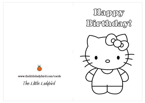 printable birthday cards to color birthday candle coloring page vitlt com