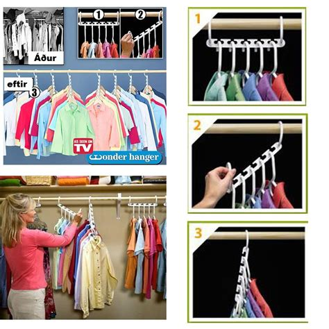 Magic Hanger Clothes Organiser Isi 8 Gantungan Baju Hemat Ruang magic hanger closet organize end 11 28 2019 8 48 pm