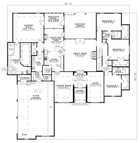 guest suite floor plans european house plan 82145 house plans guest rooms and