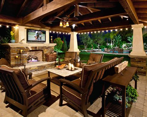 backyard tv a big screen tv under a covered patio would be such a great addition to your backyard green