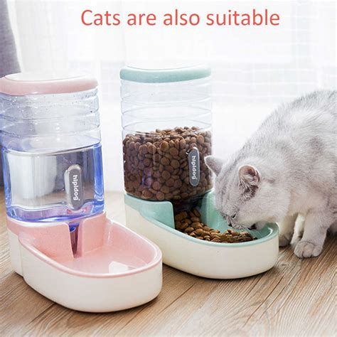 dog fountain automatic pet water feeder cat