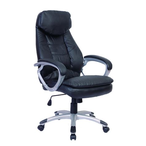 Real Chair Black Black Office Chair Real Leather Lovdock