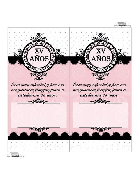 imagenes para colorear mis xv invitaci 243 n de quince a 241 os para imprimir