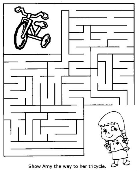 printable maze for preschoolers medium printable mazes homework print out sheets free for