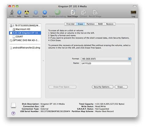 format external hard drive mac ms dos fat how to format a usb stick on a mac using disk utility