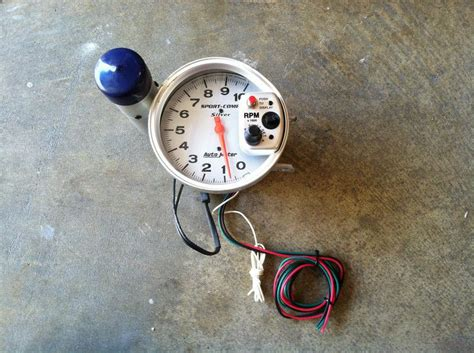 autometer tach with shift light find auto meter tach sport comp with shift light