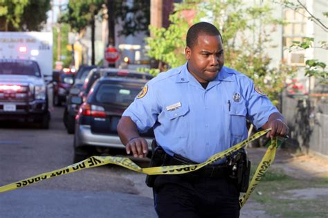 Nopd Officer by Channel Shooting Uptown Messenger