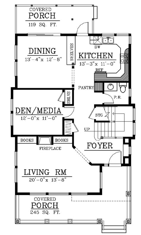 House With Attic Floor Plan House Floor Plans With Attic House Design Plans
