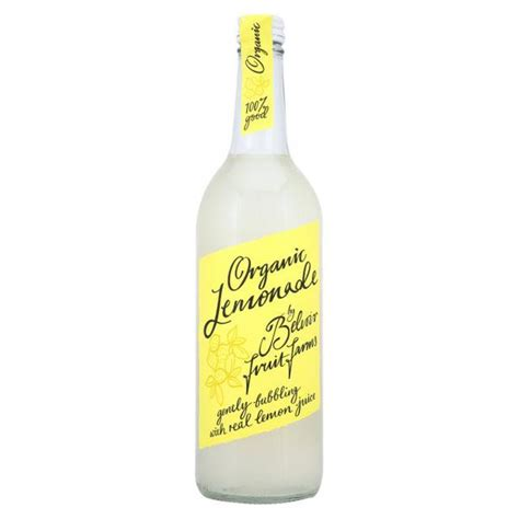 Handmade Lemonade - organic handmade lemonade in 750ml from belvoir