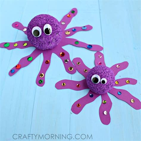 Octopus Papercraft - 25 best ideas about octopus crafts on