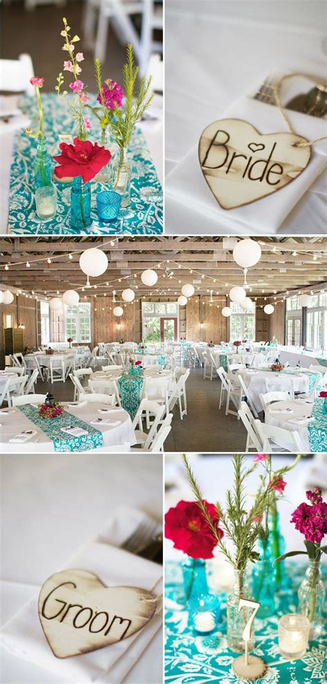 Teal Decorations by Teal Wedding Accents Teal Wedding Ideas Decorations