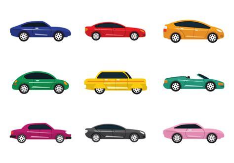 imagenes vectores autos colorul carros de vectores iconos descargue gr 225 ficos y