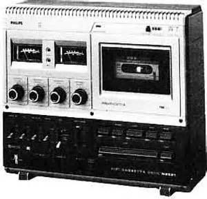 Philips N2521 Manual Hifi Stereo Cassette Deck Hifi