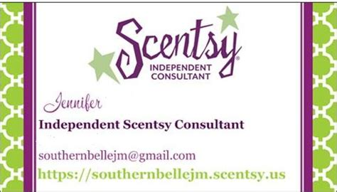 Free Scentsy Business Card Template by Southern 31 Days Day 11 A Typical Saturday