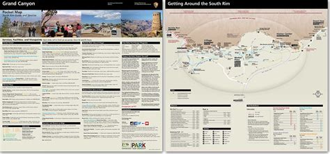 grand map and guide maps grand national park u s national park service