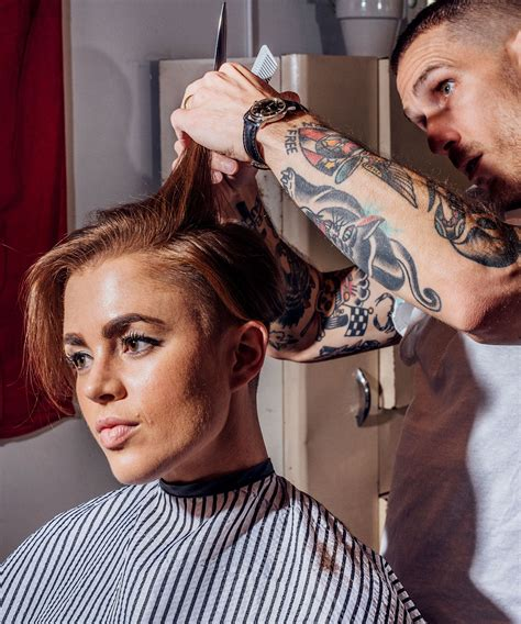 the new wave of women in barbershops
