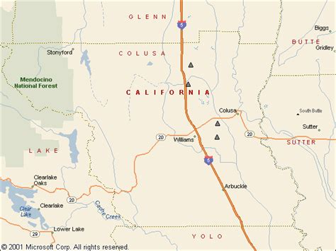 table colusa california usgs groundwater