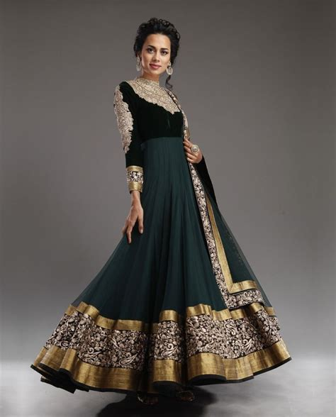 Anarkali India Exclusive 97 exclusive from our wedding shop gorgeous green