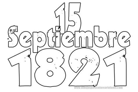 imagenes para colorear independencia de mexico 16 de septiembre dibujos de la independencia de m 233 xico