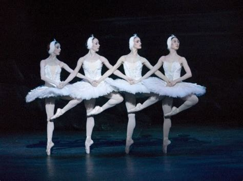 dance of the swans swan lake english national ballet every ballerina learns