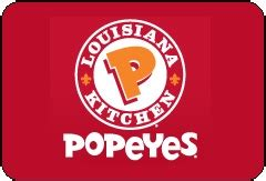 check popeyes gift card balance mrbalancecheck - Popeyes Gift Cards