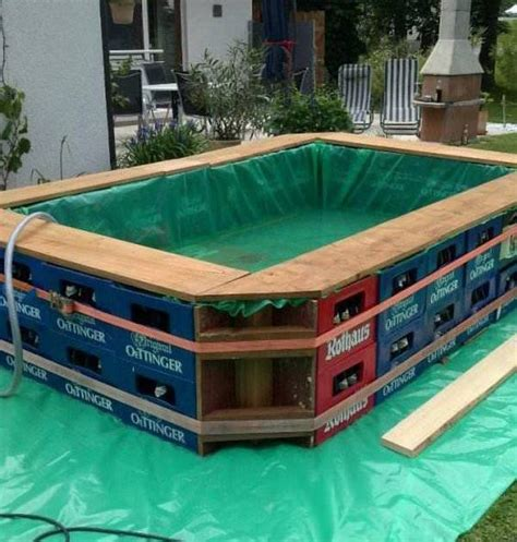 how to build a pool house diy swimming pool cool and fun home design garden