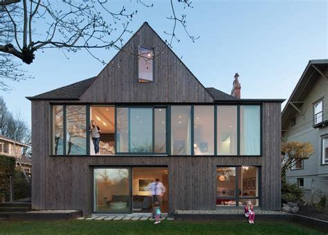 Tudor Style Home in Seattle Gets a Bold Modern Rear Facade   Freshome.com