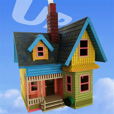 up house disney disney 3d quot up quot house puzzle small laser cut bird s wood shack
