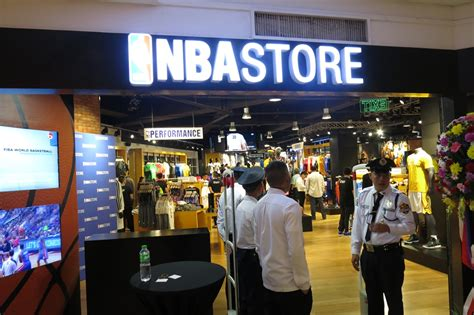 shoe stores basketball nba store philippines now open for basketball fans