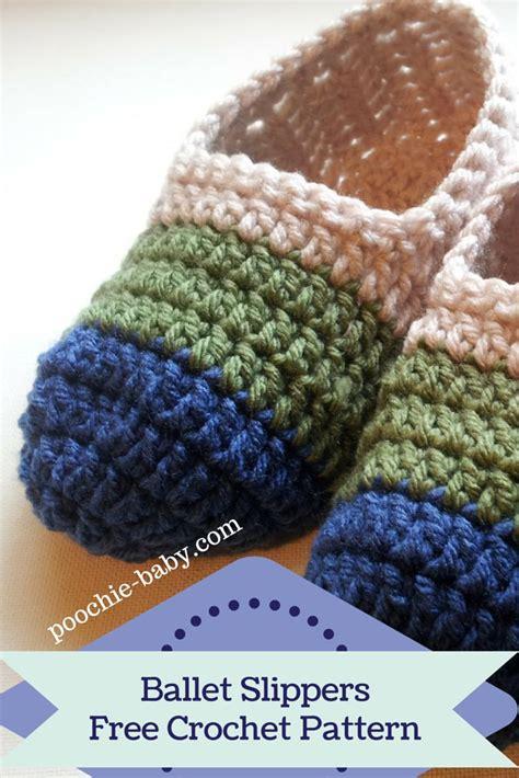 crochet patterns slippers easy best 25 easy crochet slippers ideas on