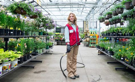 Lowes Gardening Center by Your Home Employer Contracts
