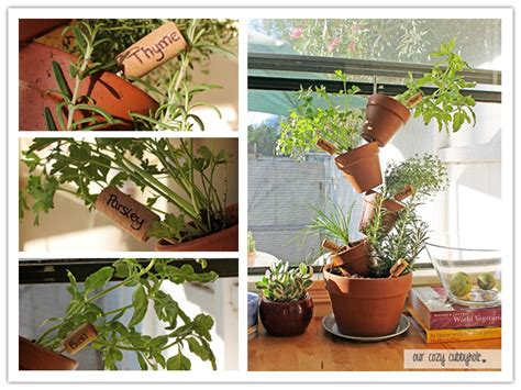 how to make diy vertical herb garden step by step tutorial