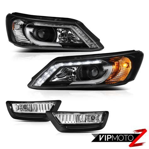 2013 honda accord fog lights 2013 2015 honda accord 9th sedan black led projector