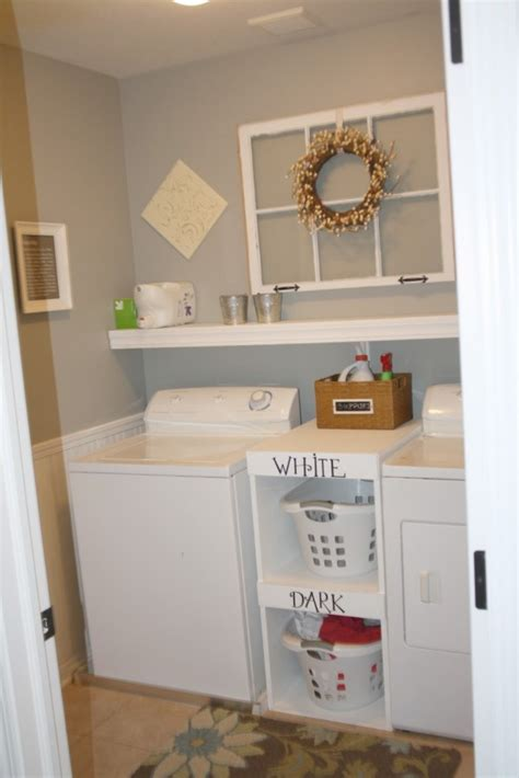Chic Ideas For Decorating A Laundry Room Rustic Crafts Small Laundry Room Decorating Ideas