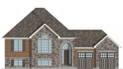 Craftsman House Plans Raised Bungalow House Plans House Bungalow House Plans Ontario