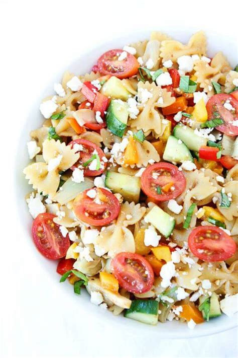 pasta salad recipes easy 15 pasta salad recipes gimme some oven