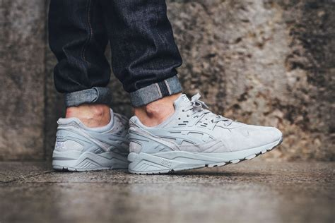 Asics Gel Kayano Trainer asics gel kayano trainer light grey sneaker bar detroit