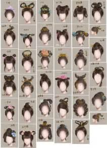 artist of hairstyle 古代女子发型名称和图片 百度知道