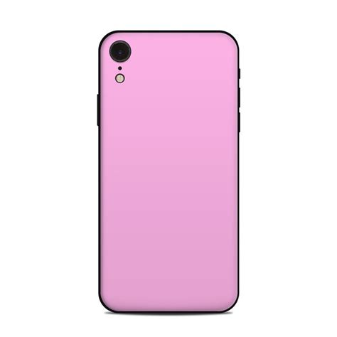 apple iphone xr skin solid state pink by solid colors decalgirl